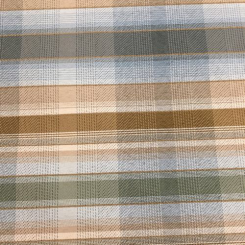 3 1/2 Yards Plaid/Check  Woven  Fabric