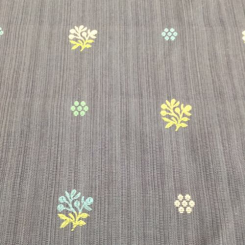 6 1/2 Yards Floral  Woven  Fabric