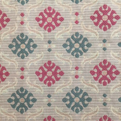 2 1/2 Yards Geometric Diamond  Woven  Fabric