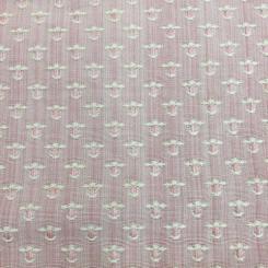 7 1/2 Yards Polka Dots Textured  Woven Textured  Fabric