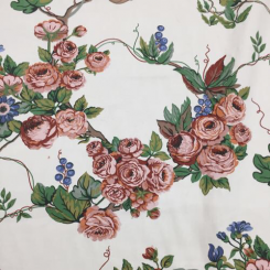 24 Yards Floral  Print  Fabric