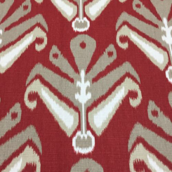 2 Yards Ikat  Print  Fabric