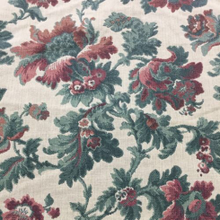 29 1/2 Yards Floral  Woven  Fabric