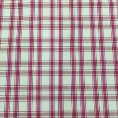 4 1/2 Yards Plaid/Check  Satin  Fabric