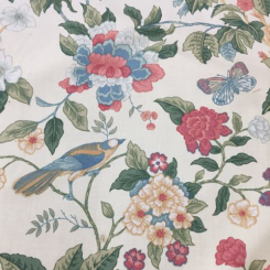 8 1/2 Yards Floral  Print  Fabric