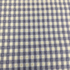 17 1/2 Yards Plaid/Check  Satin  Fabric