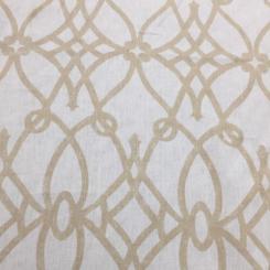 6 1/2 Yards Geometric  Print  Fabric