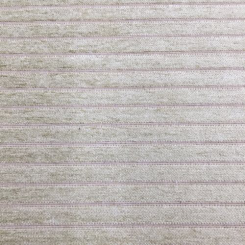 1 1/2 Yards Stripe Solid  Chenille Textured  Fabric