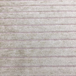 1 Yard Solid Stripe  Chenille  Fabric