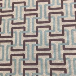 3 Yards Geometric  Woven  Fabric