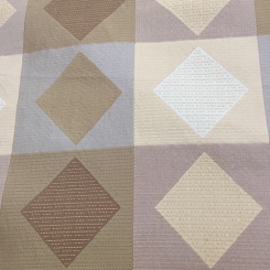 15 Yards Diamond Geometric  Woven  Fabric