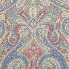 12 Yards Paisley  Woven  Fabric