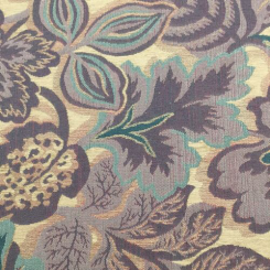 8 Yards Floral  Woven  Fabric