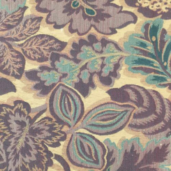 12 Yards Floral  Woven  Fabric