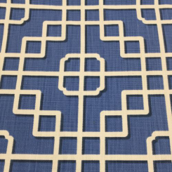 3 Yards Geometric  Basket Weave  Fabric