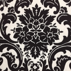 17 1/2 Yards Floral Damask  Print  Fabric