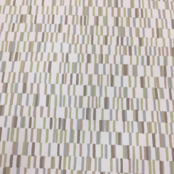 18 1/2 Yards Geometric  Vinyl  Fabric