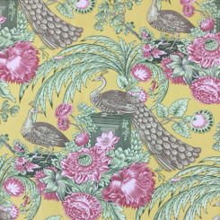 22 Yards Animal Floral  Print  Fabric