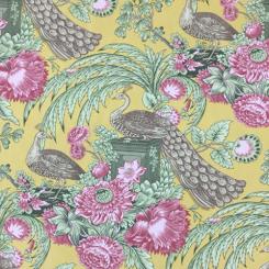 22 Yards Animal Floral  Print  Fabric