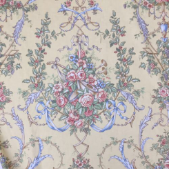 7 3/4 Yards Floral  Print  Fabric