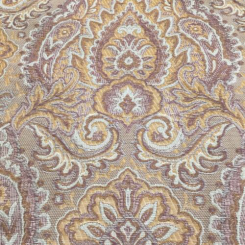 15 Yards Damask Floral  Woven  Fabric