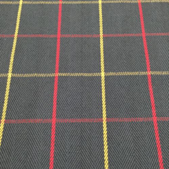 13 Yards Plaid/Check  Woven  Fabric