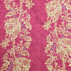 15 Yards Damask Stripe  Print  Fabric