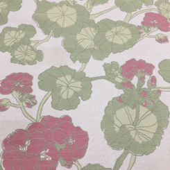 9 1/2 Yards Floral  Woven  Fabric