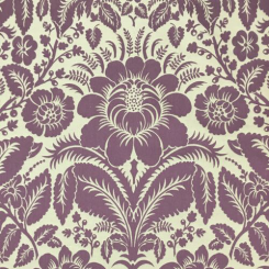 11 Yards Damask Floral  Woven  Fabric
