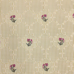 8 1/2 Yards Children Floral  Woven  Fabric