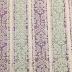 7 Yards Damask Floral  Woven  Fabric