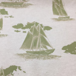 13 Yards Nature Nautical  Woven  Fabric