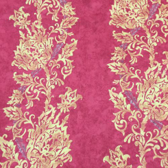 11 Yards Damask Stripe  Print  Fabric