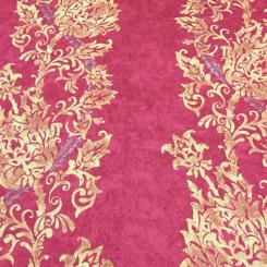 16 Yards Damask Stripe  Print  Fabric