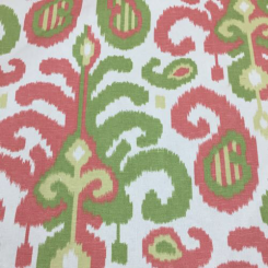 7 1/2 Yards Geometric Ikat  Print  Fabric