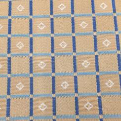 7 Yards Diamond Plaid/Check  Woven  Fabric