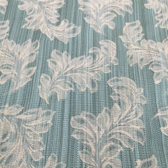 8 Yards Damask Floral  Woven  Fabric