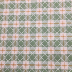 15 Yards Diamond Plaid/Check  Woven  Fabric