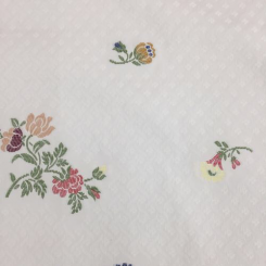 13 1/2 Yards Floral  Woven  Fabric