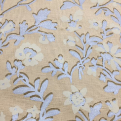 11 1/2 Yards Floral  Print  Fabric