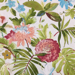 9 1/2 Yards Floral  Print  Fabric