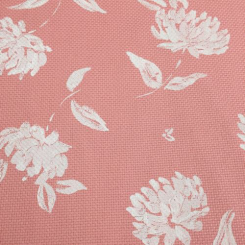 12 Yards Floral  Basket Weave Print  Fabric