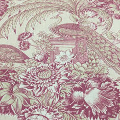 12 Yards Animal Floral  Print  Fabric