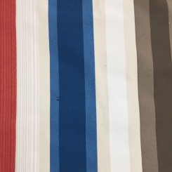 4 1/2 Yards Stripe  Canvas/Twill  Fabric