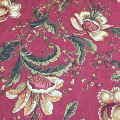 11 Yards Floral  Print  Fabric