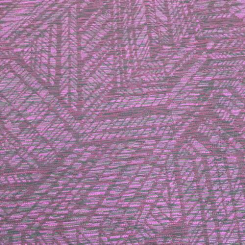3 Yards Geometric  Woven  Fabric