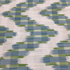 6 Yards Abstract Stripe  Woven  Fabric