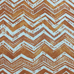 6 Yards Chevron Geometric  Print  Fabric