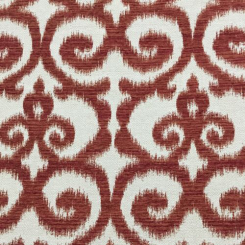 4 1/2 Yards Abstract Ikat  Woven  Fabric