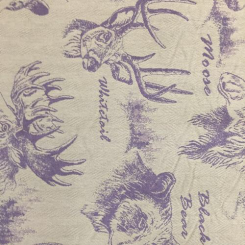 6 1/2 Yards Animal Children  Woven  Fabric